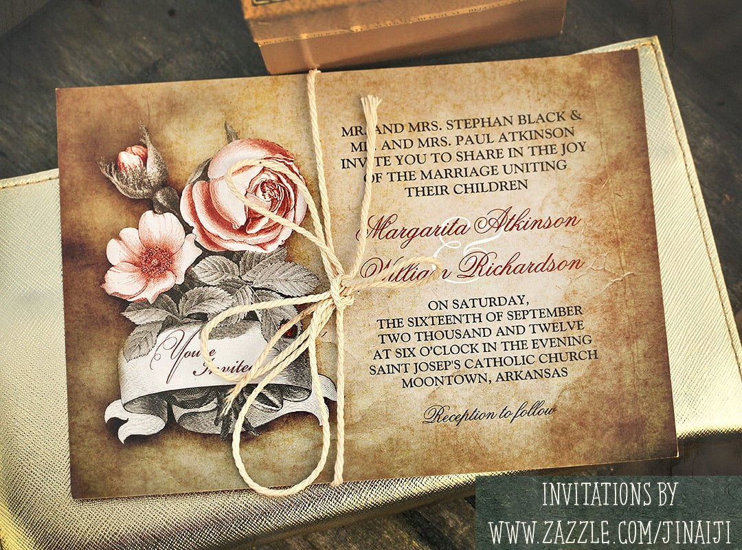 Old Vintage Wedding Invitations – Need Wedding Idea