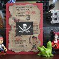 Free Printable Template Pirate Invitation