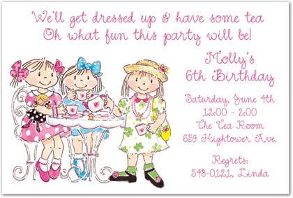 Proddetail Cfm Trend Girls Tea Party Invitation