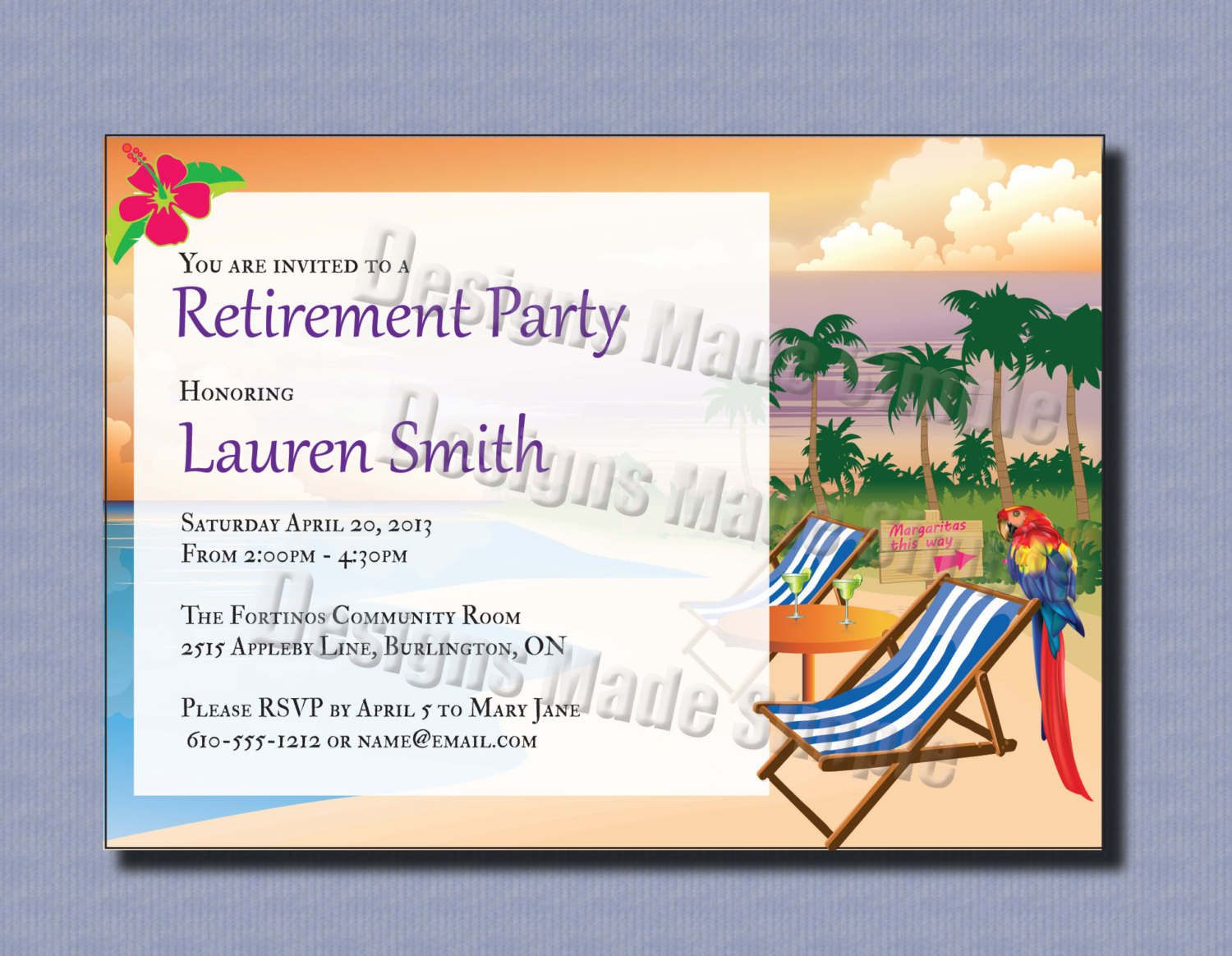 Retirement Invitation Template Free Pictures Of Photo Albums