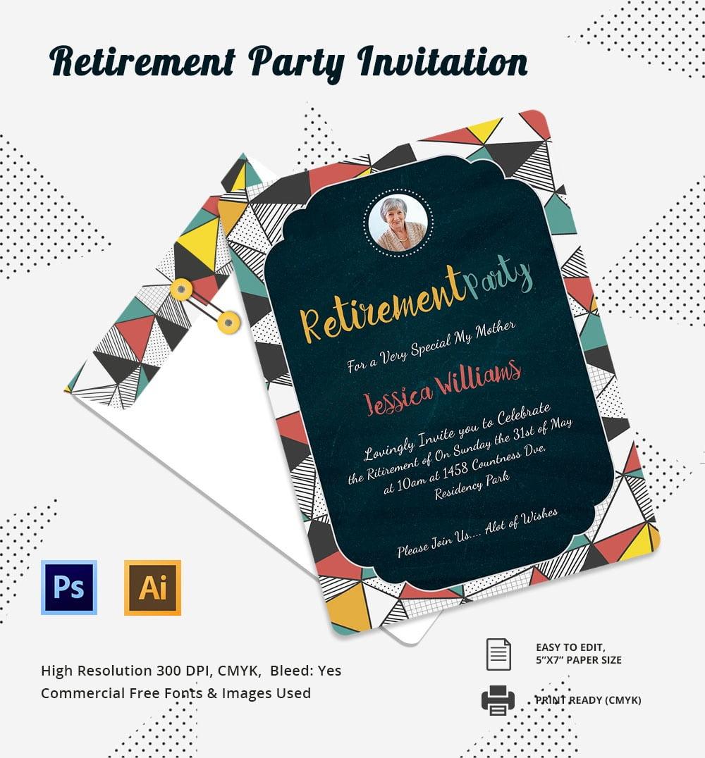 29+ Retirement Invitation Templates