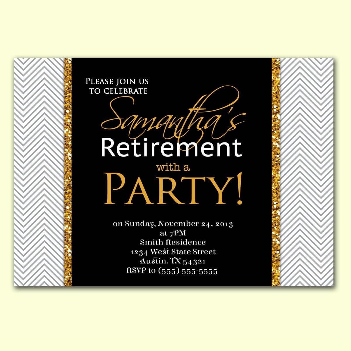 Retirement Party Invitations Retirement Party Invitations With An