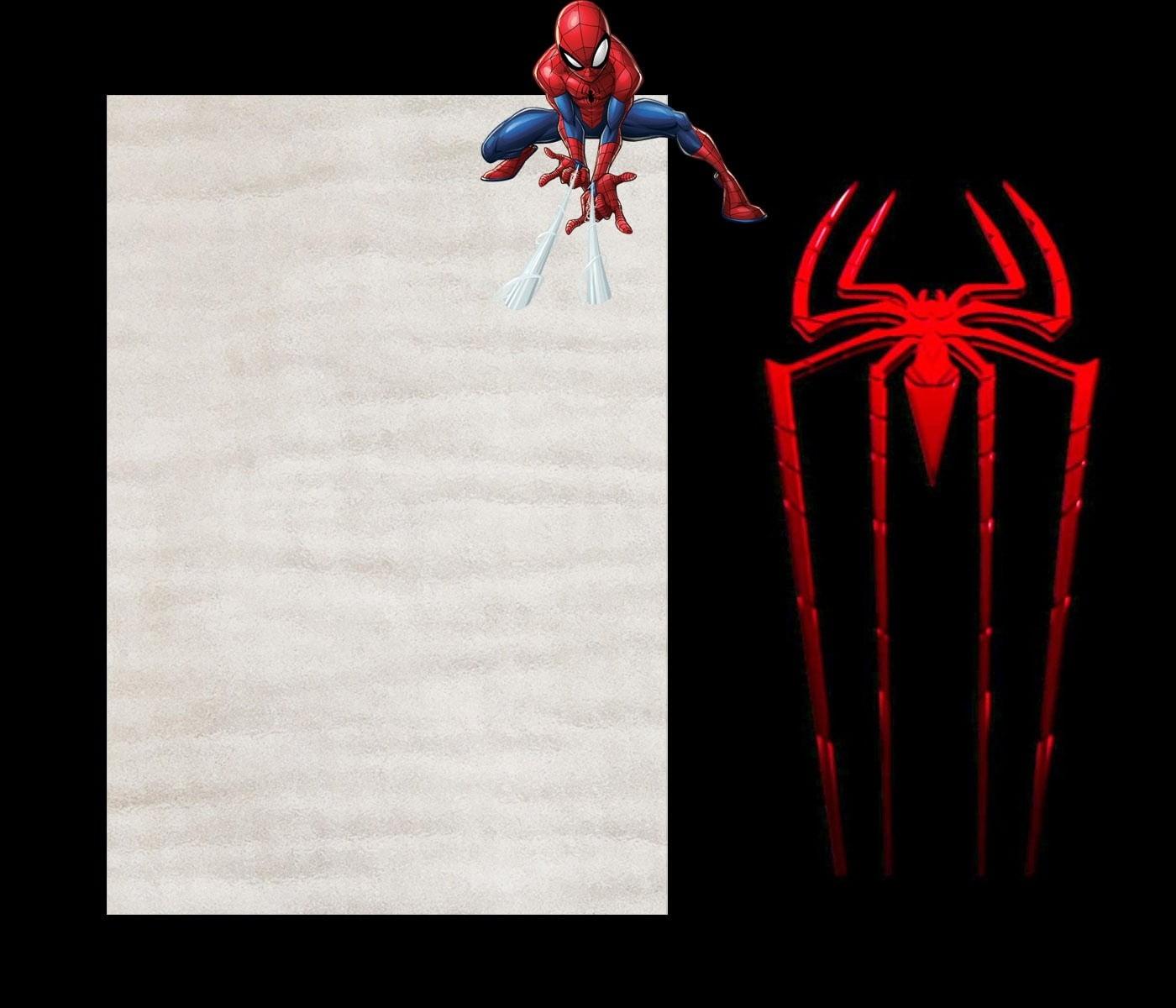Spiderman Invitation Template Site Image Spiderman Invitation