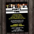 Star Wars Party Invitation Template Printable