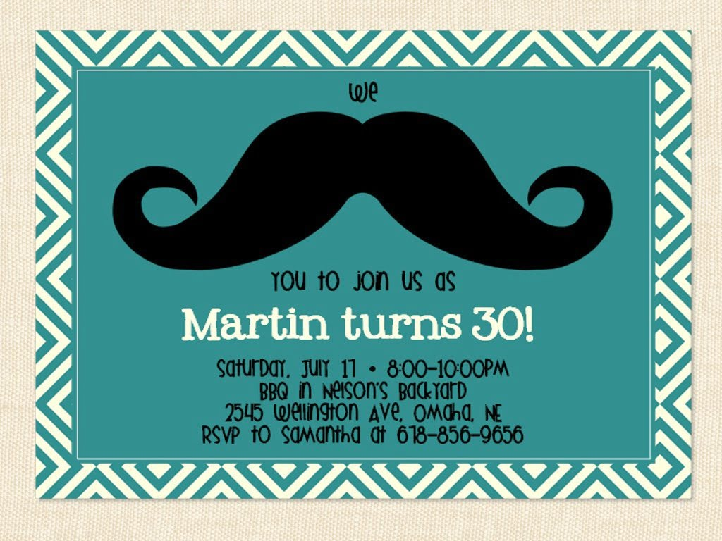 Template Birthday Party Invitations For Him Surprise Also Free
