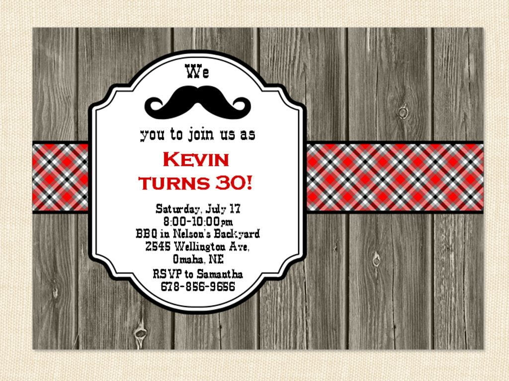 Invitation Ideas  40th Birthday Invitations For Men
