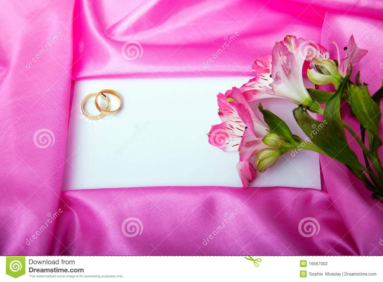 Wedding Invite Blank Stock Photo  Image Of Announcement