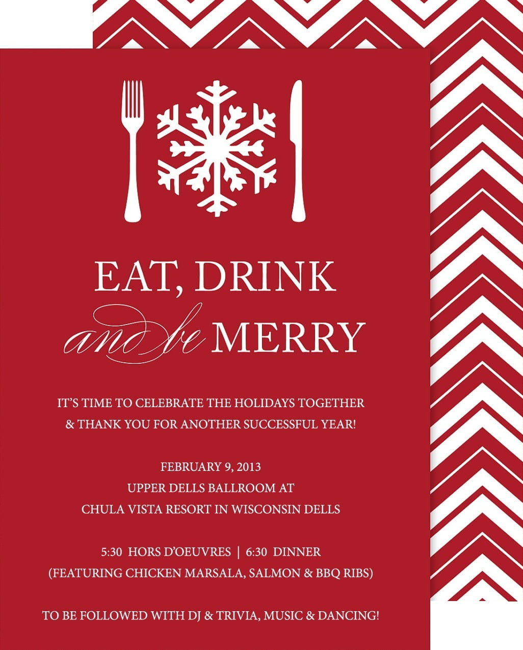 Work Christmas Party Invites Cute Holiday Party Work Invite